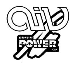 Международный товарный знак №548358 aiv GREEN POWER