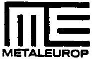 Международный товарный знак №558303 ME METALEUROP