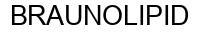 Международный товарный знак №558926 BRAUNOLIPID