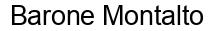 Международный товарный знак №749778 Barone Montalto