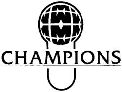 Международный товарный знак №751324 CHAMPIONS