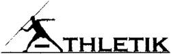 Международный товарный знак №751598 ATHLETIK
