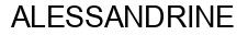 Международный товарный знак №753406 ALESSANDRINE