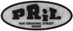 Международный товарный знак №769699 PRIL THE ORIGINAL STREET WEAR