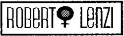 Международный товарный знак №769963 ROBERT LENZI