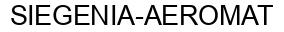 Международный товарный знак №779948 SIEGENIA-AEROMAT