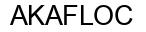 Международный товарный знак №784658 AKAFLOC