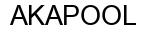 Международный товарный знак №784659 AKAPOOL