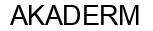 Международный товарный знак №785071 AKADERM