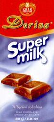 Международный товарный знак №786551 KRAS Dorina Super milk