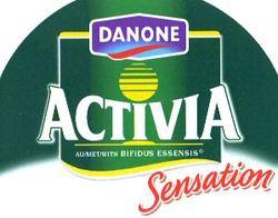 Международный товарный знак №812046 DANONE ACTIVIA Sensation