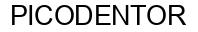 Международный товарный знак №823355 PICODENTOR