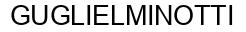 Международный товарный знак №855718 GUGLIELMINOTTI