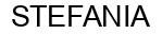 Международный товарный знак №862665 STEFANIA