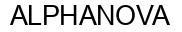 Международный товарный знак №862905 ALPHANOVA