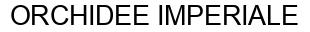 Международный товарный знак №868109 ORCHIDEE IMPERIALE