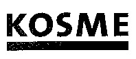 Международный товарный знак №869913 KOSME