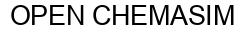 Международный товарный знак №881860 OPEN CHEMASIM