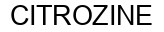 Международный товарный знак №916295 CITROZINE
