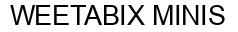 Международный товарный знак №946227 WEETABIX MINIS