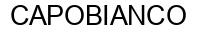 Международный товарный знак №946771 CAPOBIANCO