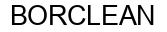 Международный товарный знак №947564 BORCLEAN