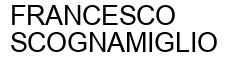 Международный товарный знак №956406 FRANCESCO SCOGNAMIGLIO