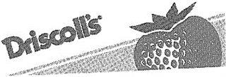 Товарный знак №165701 DRISCOLLS DRISCOLL