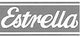 Товарный знак №165866 ESTRELLA