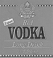 Товарный знак №166088 SINEBRYCHOFF RED VODKA LONG DRINK EXPORT