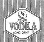 Товарный знак №166509 PEACH VODKA LONG DRINK