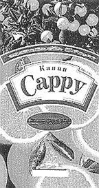 Товарный знак №166552 CAPPY КАППИ
