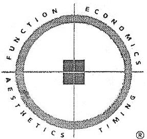 Товарный знак №166995 FUNCTION ECONOMICS AESTHETICS TIMING