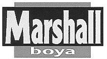 Товарный знак №167719 MARSHALL BOYA
