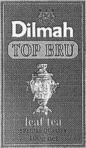 Товарный знак №167853 DILMAH TOP BRU LEAF TEA