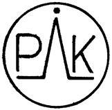 Товарный знак №167868 PIK