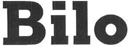 Товарный знак №329262 BILO