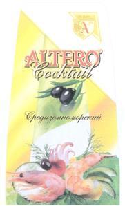 Товарный знак №329299 ALTERO ALTERO COCKTAIL СРЕДИЗЕМНОМОРСКИЙ