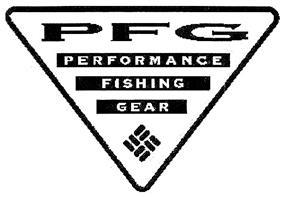 Товарный знак №329479 PFG PERFORMANCE FISHING GEAR