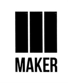 Товарный знак №583602 MAKER
