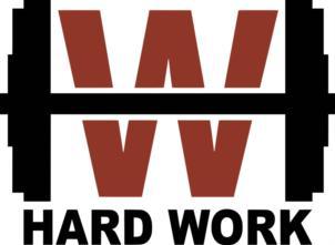 Товарный знак №755358 HW HARD WORK