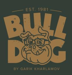 Товарный знак №755598 BULLDOG BY GARIK KHARLAMOV EST. 1981