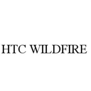 Товарный знак №755845 HTC WILDFIRE