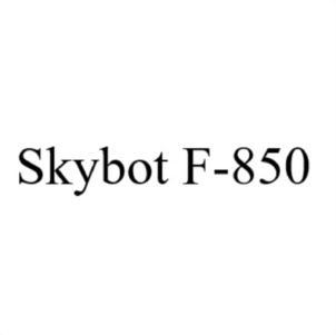 Товарный знак №756055 SKYBOT F-850